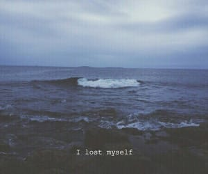 grunge, lost, and ocean image