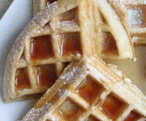 waffles, breakfast, and buttermilk image