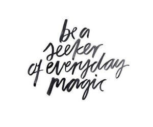 quotes, magic, and everyday image