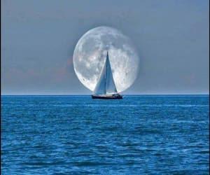 bateau, ocean, and eau image