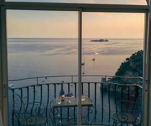 balcony, dinner, and italy image