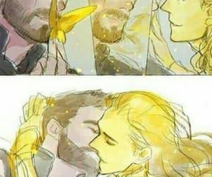 Marvel, thor odinson, and loki laufeyson image