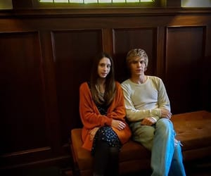 american horror story, evan peters, and ‎taissa farmiga image