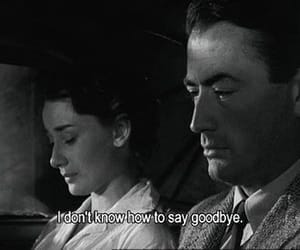 black and white, gregory peck, and quote image