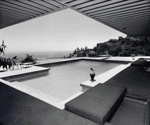 julius shulman, pierre koenig, and case study house image