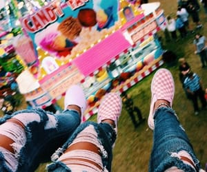 aesthetic, summer, and vans image