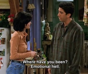 90's, monica geller, and emotional image