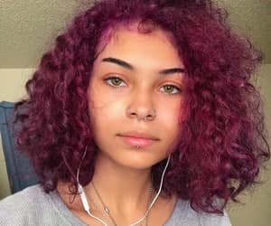 alternative, curly hair, and Piercings image