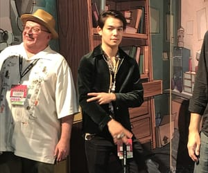 comic con, DC, and ryan k potter image