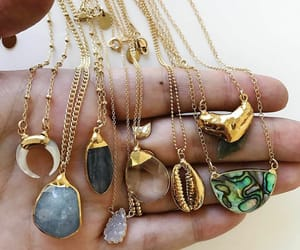 necklace, jewelry, and style image
