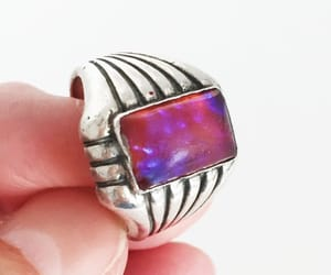etsy, sterling silver, and unisex image