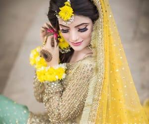 veil, muslim bride, and shaadi image