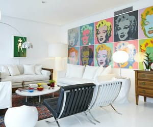andy warhol, furniture, and home decor image