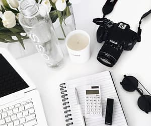 white, camera, and aesthetic image
