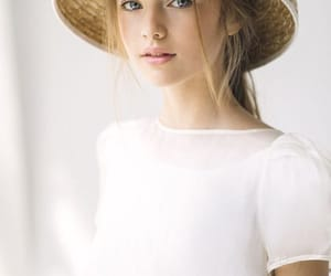 beauty, fashion, and hat image