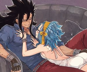 fairy tail, anime, and couple image