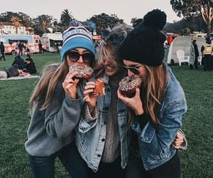 best friends, girls, and photography image