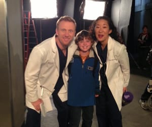 greys anatomy, sandra oh, and crowen image