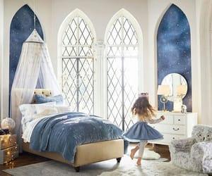 bedroom, blue, and childhood image