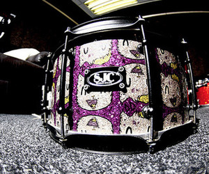 drop dead, drums, and snare image