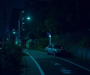 car, Darkness, and japan image