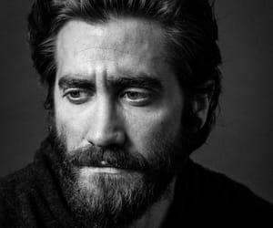 black and white, bw, and jake gyllenhaal image