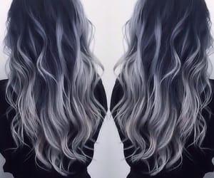 grey and hair image