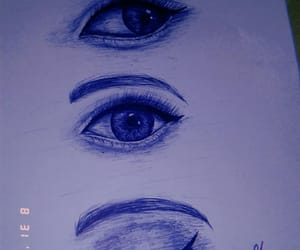 aesthetic, blue, and dibujo image
