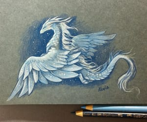 art, draw, and fantasy image