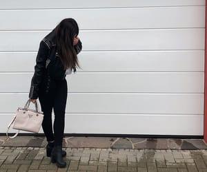 autumn, bag, and girls image
