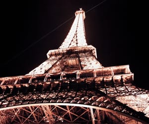 eiffel tower, france, and francais image