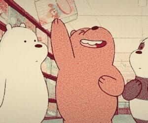 header, layout, and we bare bears image