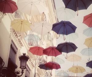 umbrella and sky image