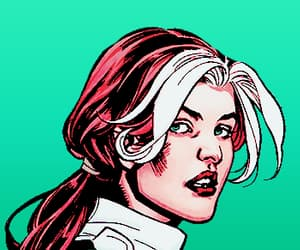 Marvel, Rogue, and anna marie raven image