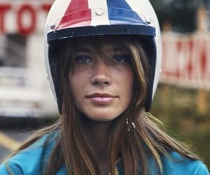 francoise hardy and french girl image
