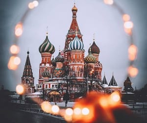 architecture, moscow, and russia image