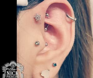 brinco, tragus, and piercing image