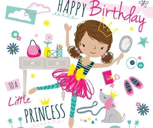 happy birthday and princess image