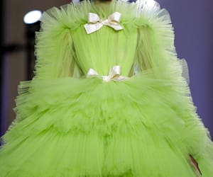 Couture, fashion, and green image