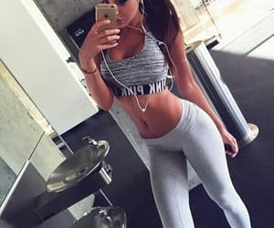 fitness, girl, and skinny image