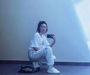 mirror, noah cyrus, and selfie image