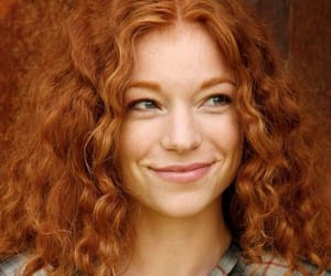 redhead and smile image