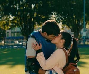 noah centineo, lana condor, and kiss image