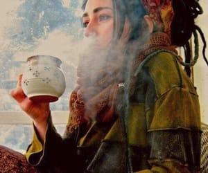 dreads, tea, and dreadlocks image