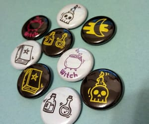 etsy, pinback buttons, and Halloween image