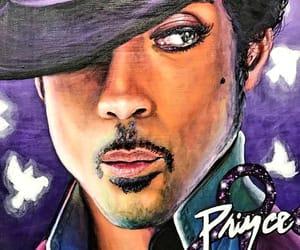 art, legend, and purple rain image