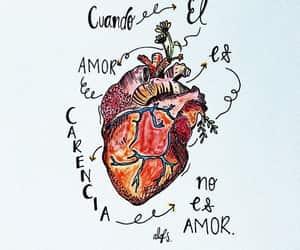 amor, dibujo, and frase image