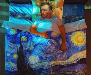 vincent, art, and night image