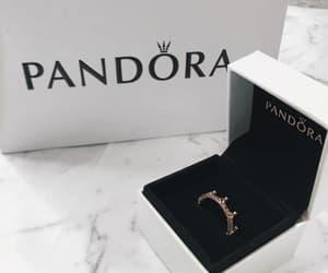 crown, pandora, and ring image