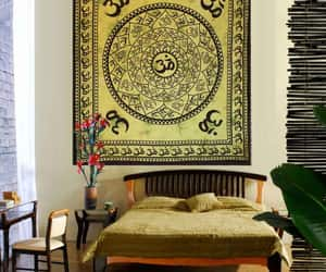 tapestry, walldecoration, and indiantapestry image